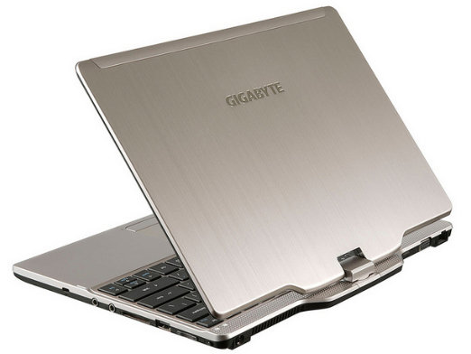 Gigabyte U21M, un convertible sous Intel Haswell