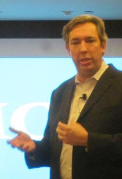 Rob Emsley, Senior Director Product Marketing de la division Backup Recovery Systems d'EMC
