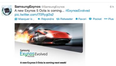 Compte Twitter @SamsungExynos