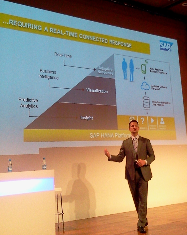 Steve Lucas, SVP Analytique, Bases de données et Technologies, SAP