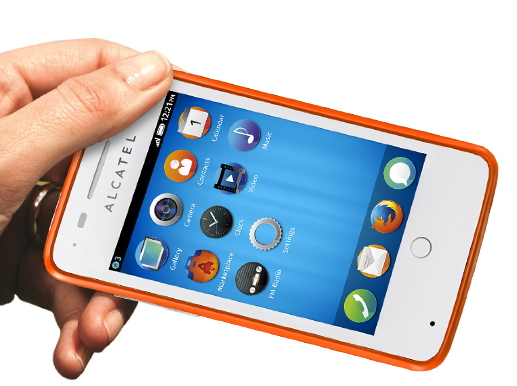Alcatel One Touch Fire sous Firefox OS