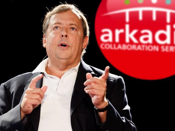 Olivier de Puymorin, PDG d'Arkadin