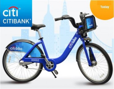 Citibike de Citibank à New York