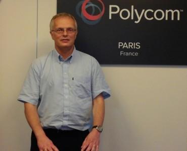 Steve Hope, SE Manager Polycom France
