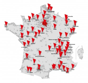 SFR : SFR carte réseau 4G-DC fin 2013