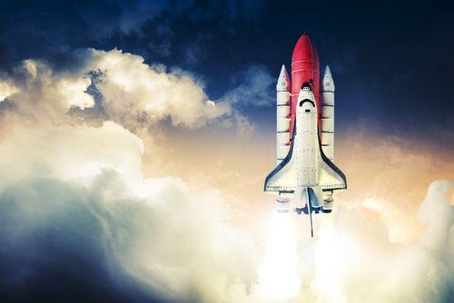 navette spatiale décollage