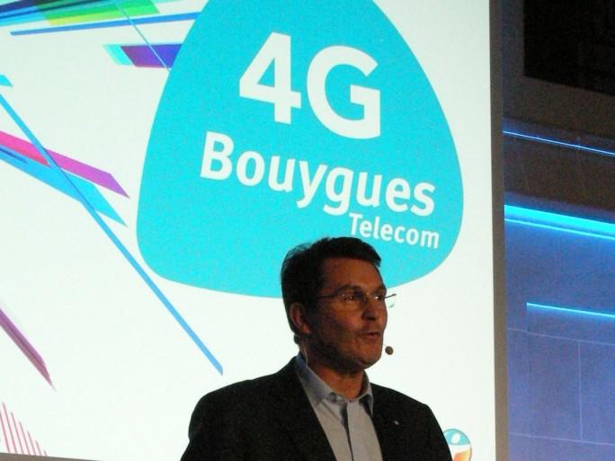 Bouygues Telecom 4g olivier roussat
