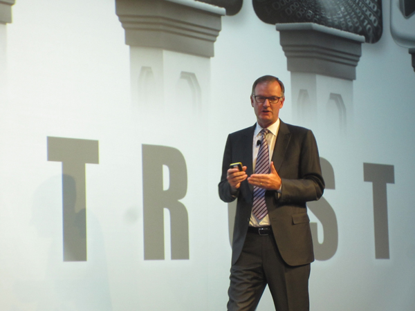 David Goulden, COO (Chief Operating Officer) de EMC