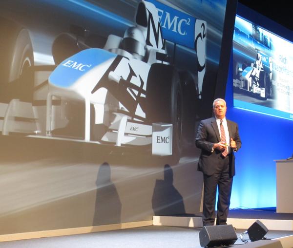 Rich Napolitano, Président de la division Unified Storage de EMC