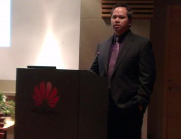 Ian Foo, directeur marketing datacenters produits et solution chez Huawei