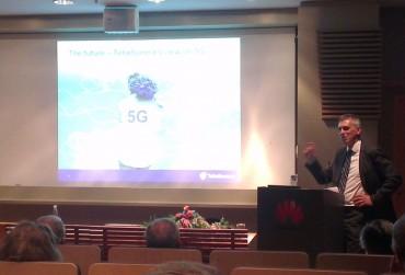 Tommy Ljunggren, VP mobilité chez TeliaSonera , expose sa vision de la 5G