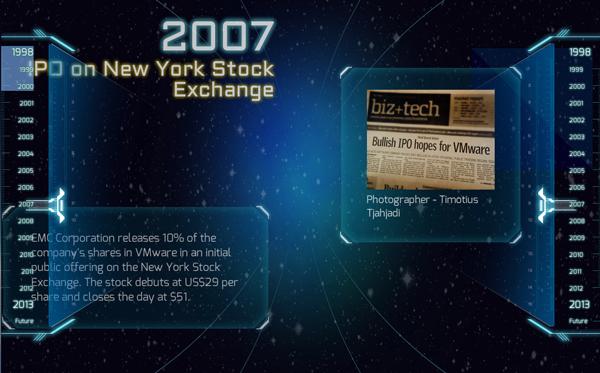 VMware 15 ans