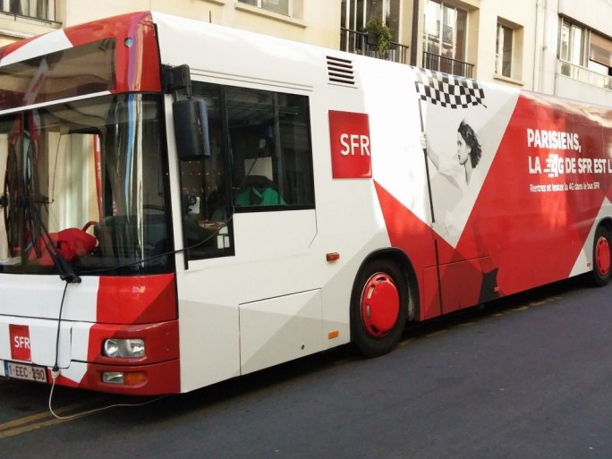 SFR bus 4G