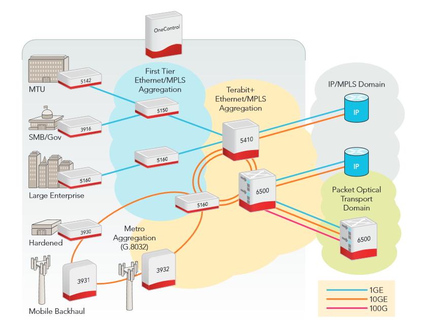 Ciena-réseau IP-switch