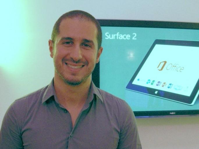 Jonathan Hadida, chef produit Surface chez Microsoft
