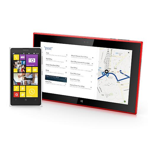 Nokia Lumia 1520 et tablette Lumia 2520