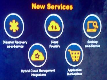 Les nouveaux services du cloud de VMware