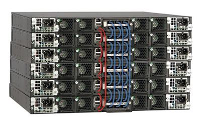 Brocade ICX 7750 back