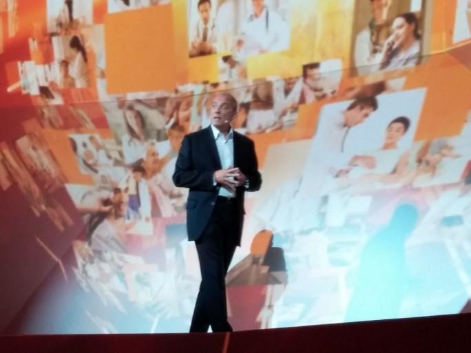 Stéphane Richard, présentation nouveautés Orange 2014 (7 novembre 2013)