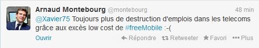 Arnaud Montebourg tweet