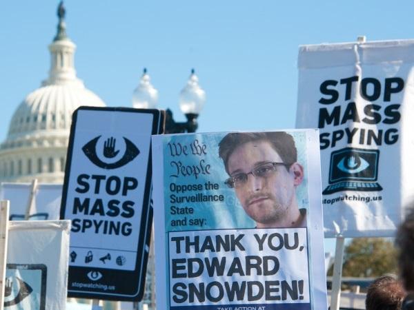 Edward Snowden protest NSA