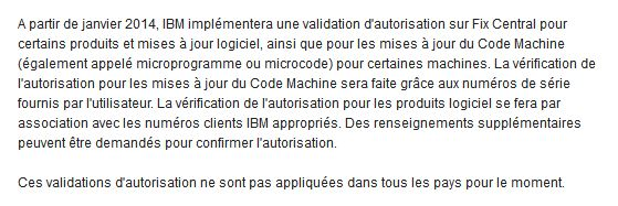 IBM Fix center