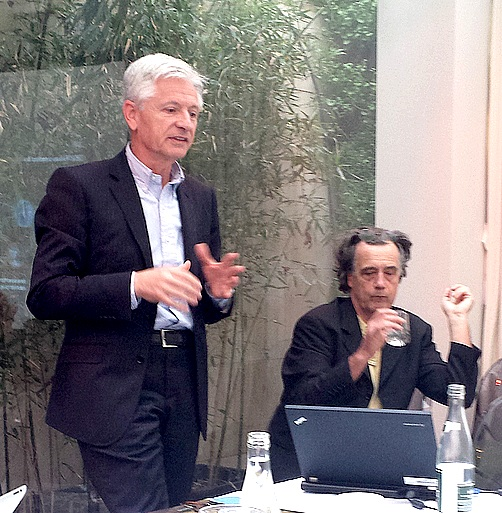 Patrice Poiraud et Patrick Albert - IBM