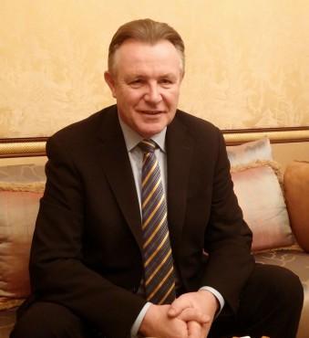 John Sims, président de la divisino Enterprise Services de Blackberry.
