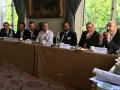 de gauche à droite, -Cyril Van Agt de NetApp, Nicolas Frapard de HGST, David Dariouch d'Oracle, Anas Safla d'Econocom-Osiatis, Sébastien Verger d'EMC et Frédréric Leonetti de HP.