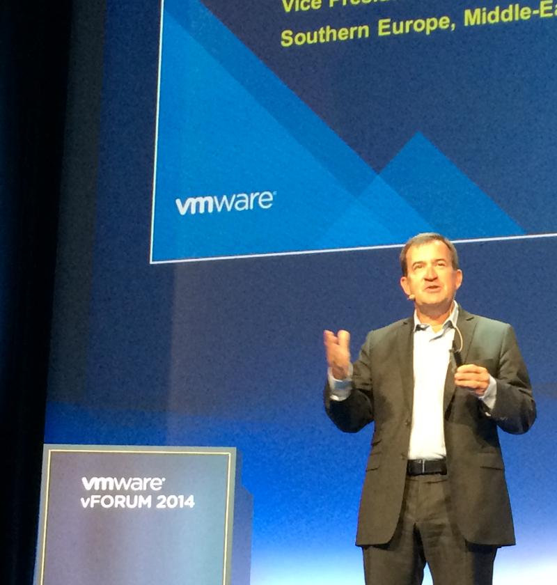 Jean-Pierre Brulard, vice-président EMEA VMware