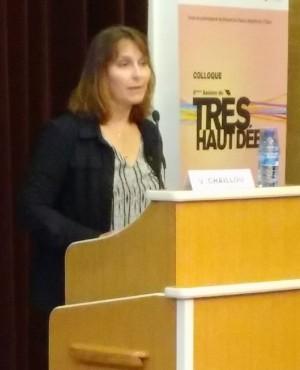 Valérie Chaillou, consultante Practice Très Haut Débit pour l'Idate.