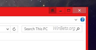 Windows 9 charmsbar