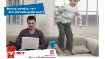 CGT-cadres campagne déconnexion