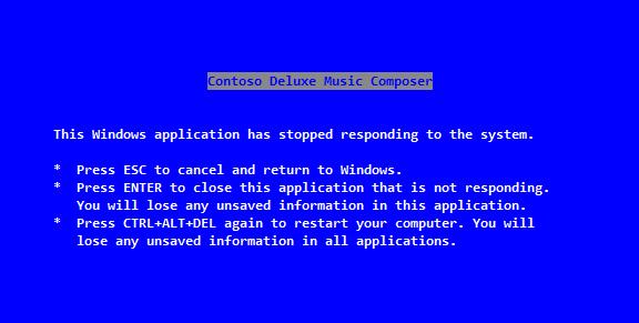 Windows écran bleu