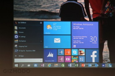 Microsoft dévoile Windows 10 pour reconquérir l'entreprise