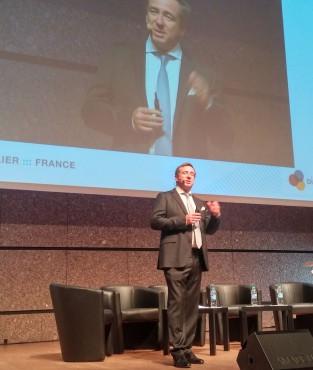 François Barrault, président de l'Idate, ouvrait la 36e édition du DigiWorld Summit de Montpellier.