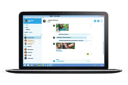how to send a skype invite
