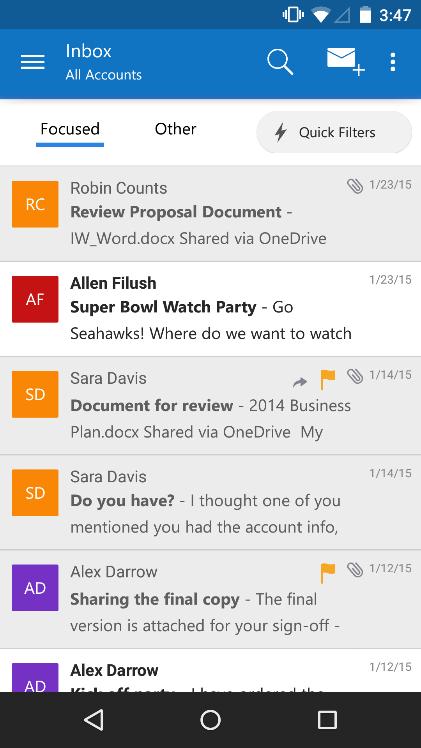 Outlook iOS