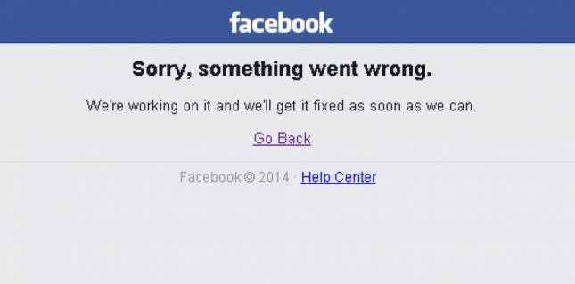 facebook wrong