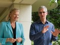 Apple IBM Rometty Cook