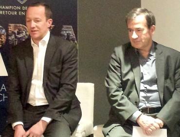 Sylvain Cazard et Jean-Pierre Boulard, VMware
