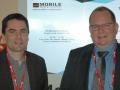 Michel Corriou et Xavier Priem de l'Institut B-com