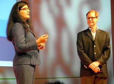 Anjul Bhambhri, IBM et Rob Bearden, CEO d'Hortonworks