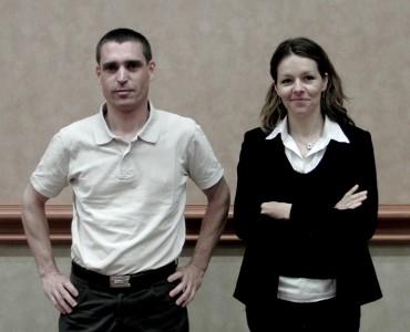 Jean-Pierre Leiva et Valérie Gallot, ingénieurs à la Française des Jeux