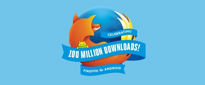Firefox Android 100mDownloads