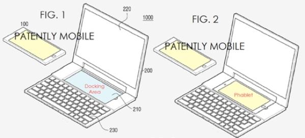 Samsung brevet smartphone