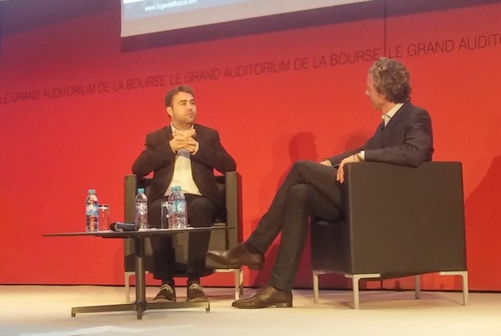 Frédéric Mazzella, fondateur dirigeant de Blablacar interviewé par Gilles Babinet, Digital Champion auprès de la Commission européenne.