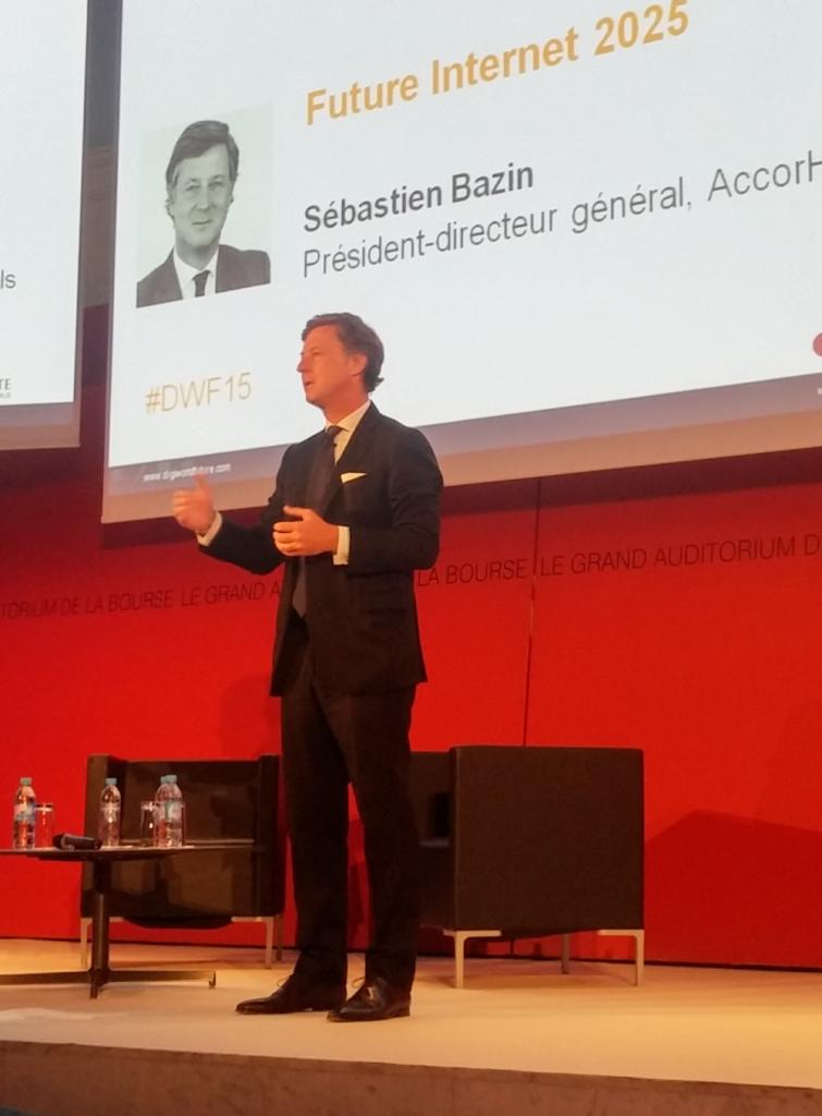 Sébastien Bazin, PDG d'AccorHotels.