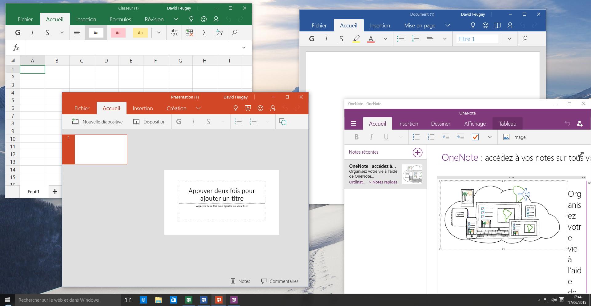 Windows 10 un mini office basique mais gratuit - Windows office gratuit pour windows ...