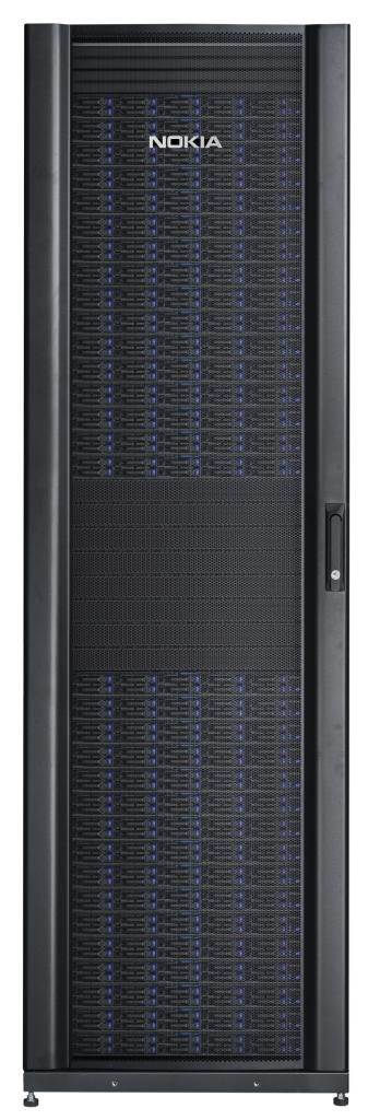 AirFrame Data Center, un rack qui combine serveurs x86 et  switches hautes performances.